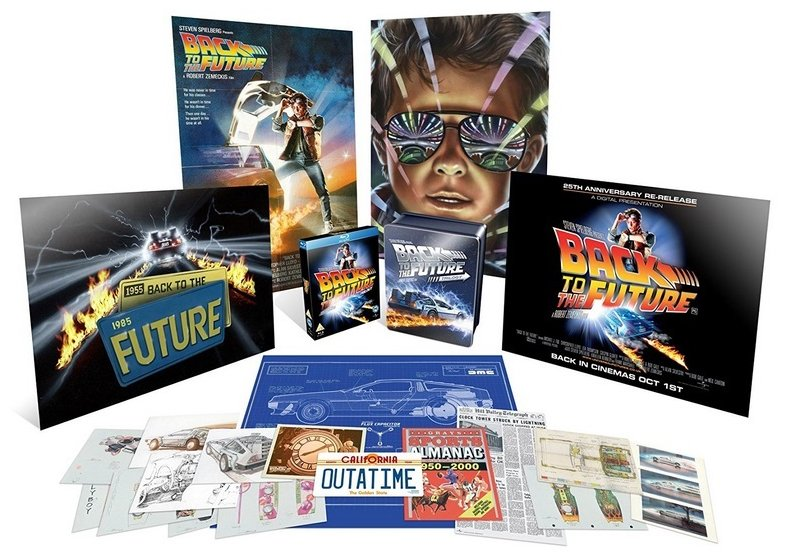 Image of   Back To The Future Trilogy Giftset 2018 - Blu-Ray