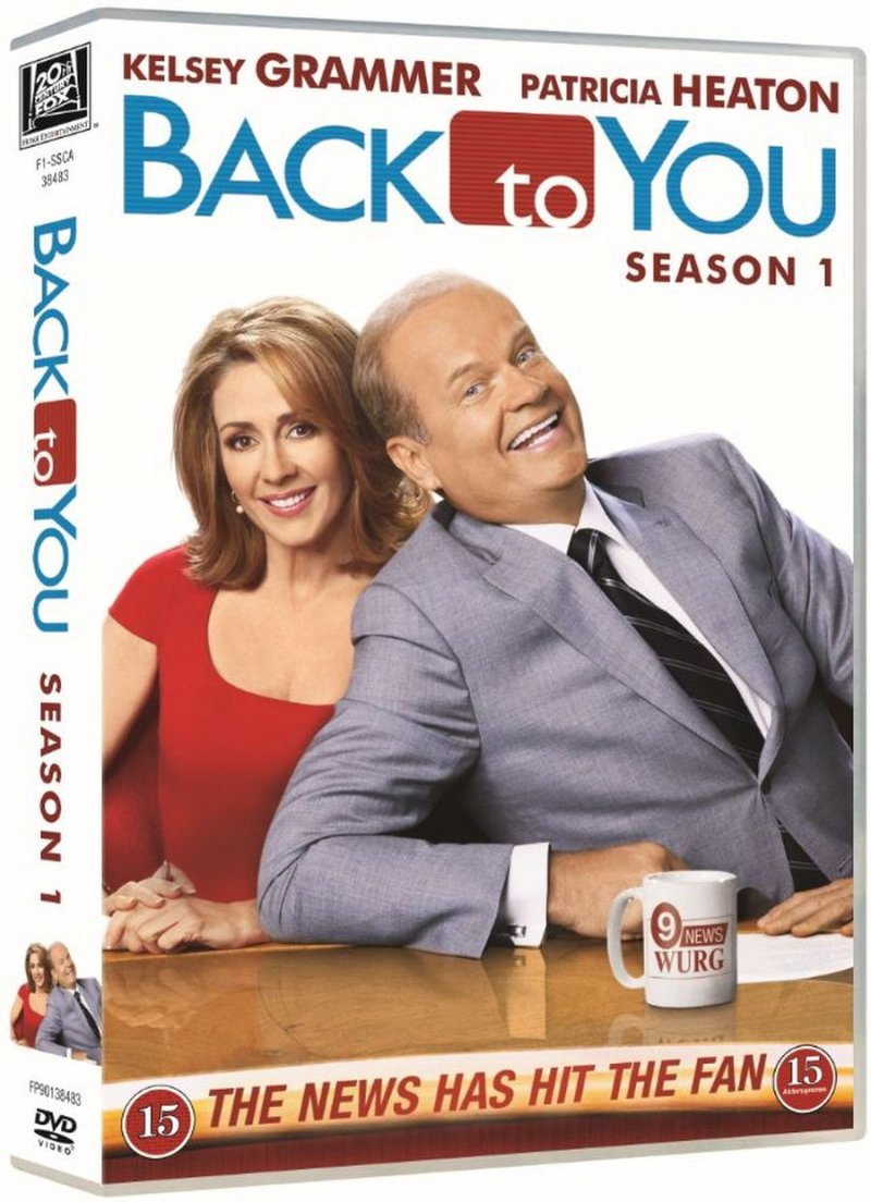 Image of   Back To You - Sæson 1 - DVD - Tv-serie