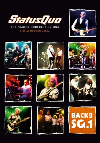 Image of   Back2sq1 - The Frantic Four Reunion Tour 2013 - Live At Wembley - DVD - Film