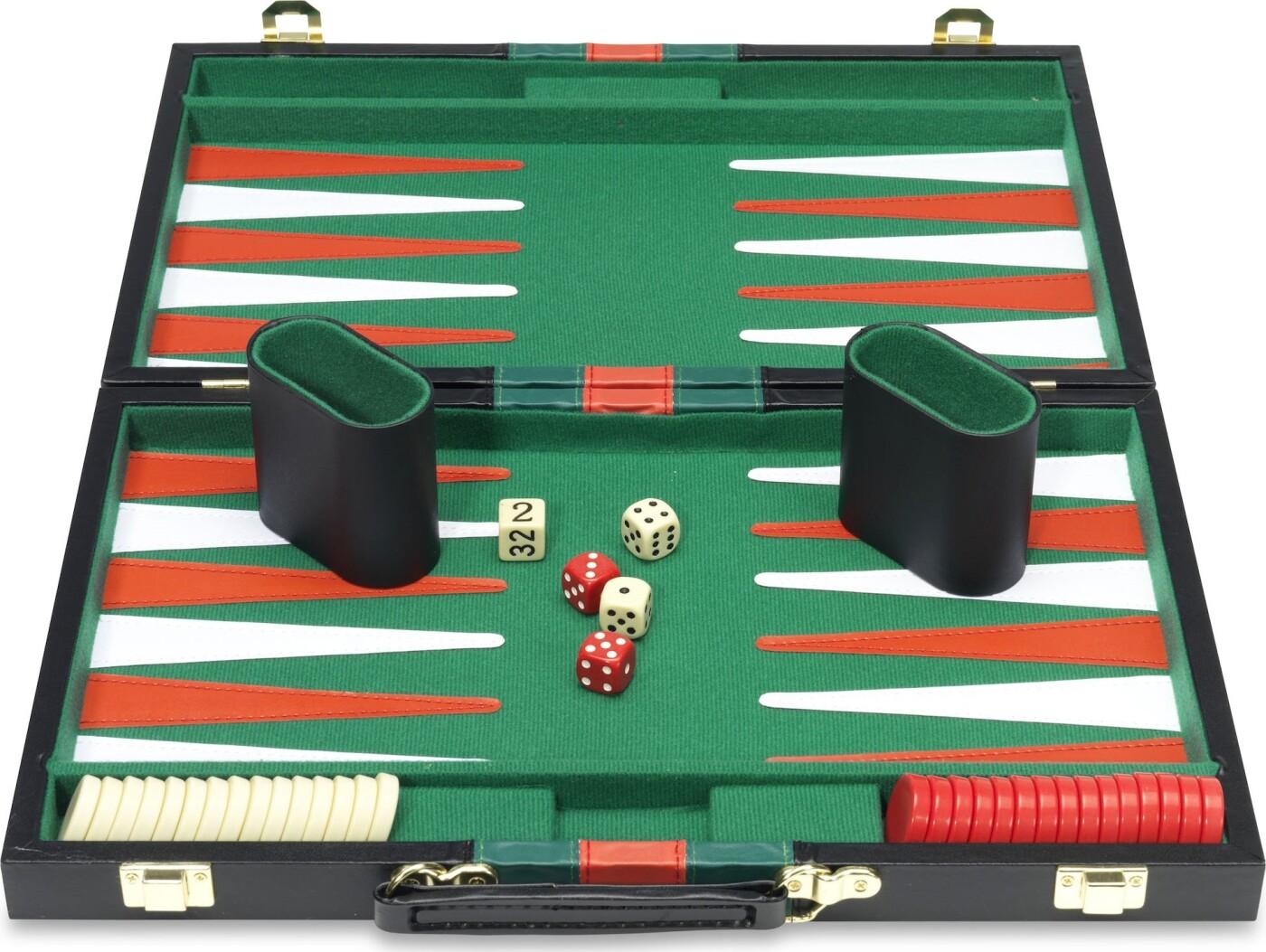 Backgammon Brætspil I Kuffert