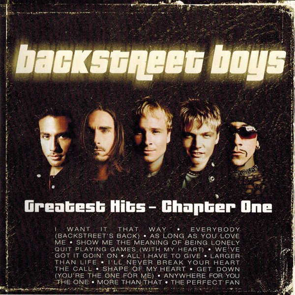 Image of   Backstreet Boys - Greatest Hits - Chapter One - CD