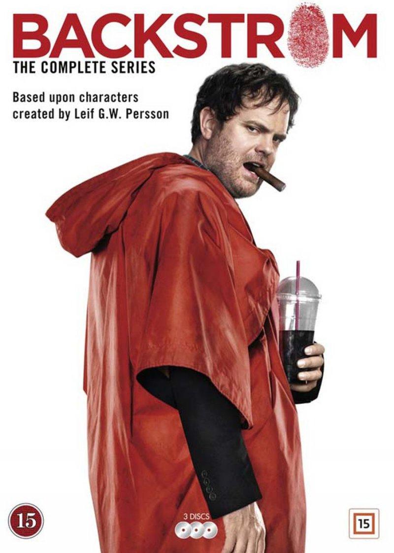 Image of   Backstrom - Sæson 1 - DVD - Tv-serie