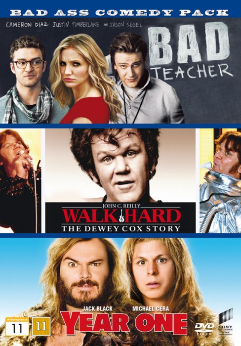 Image of   Bad Teacher // Walk Hard // Year One - DVD - Film