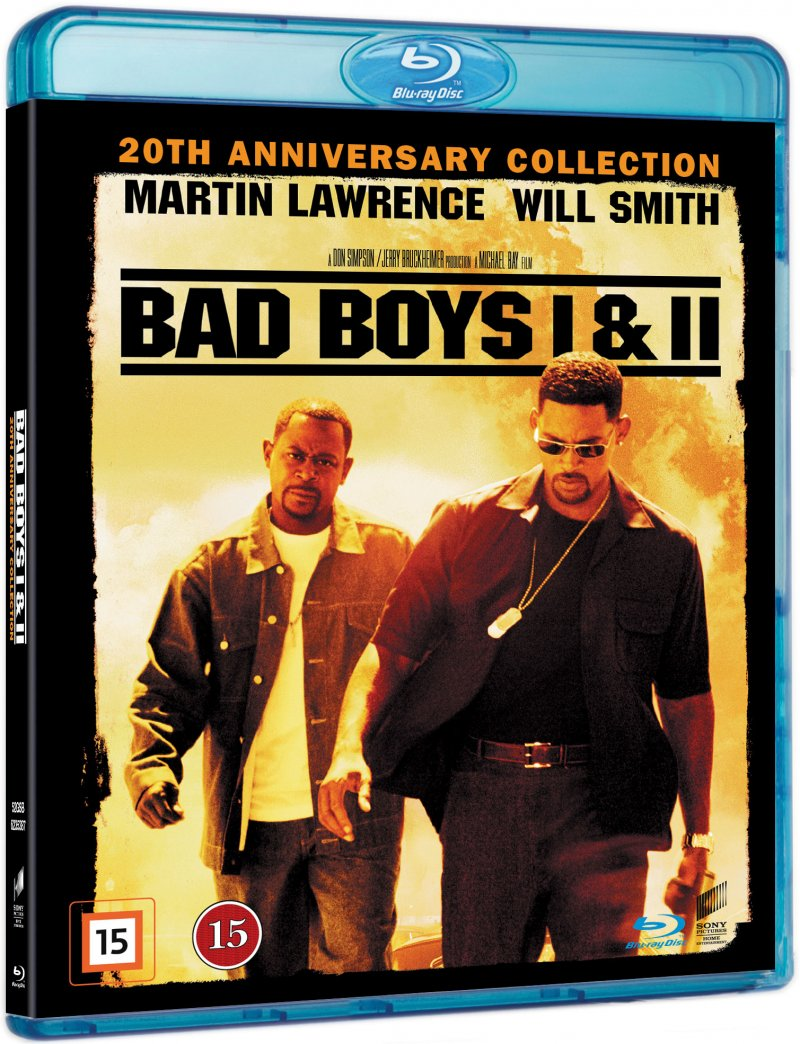 Image of   Bad Boys // Bad Boys 2 - Blu-Ray