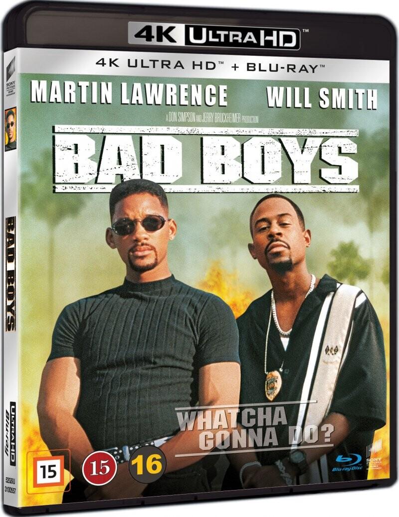 Image of   Bad Boys - 4K Blu-Ray