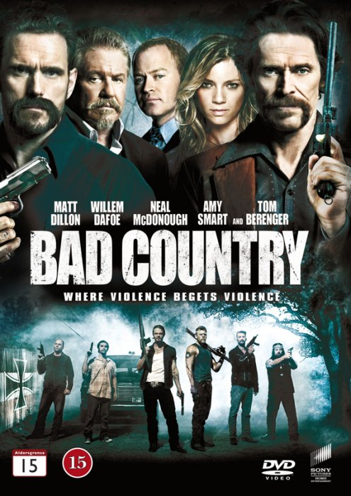 Image of   Bad Country - DVD - Film