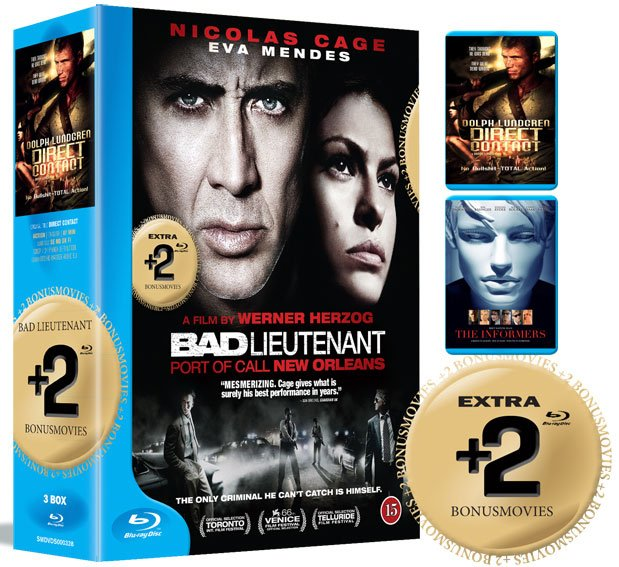 Image of   Bad Lieutenant // Direct Contact // The Informers - Blu-Ray