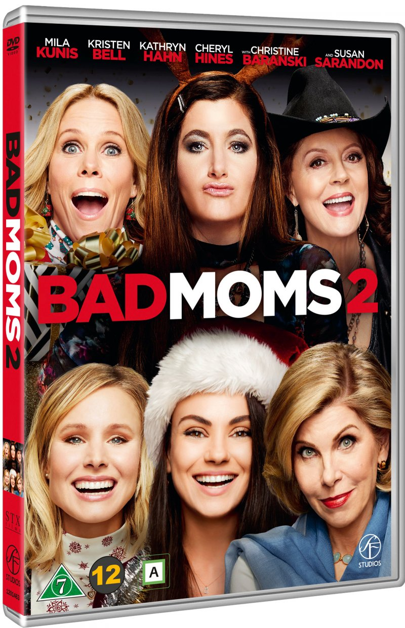 Image of   Bad Moms 2 - A Bad Moms Christmas - DVD - Film