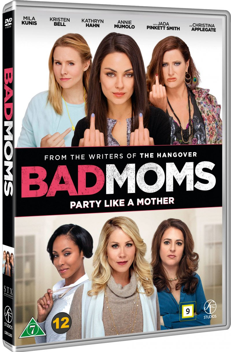 Image of   Bad Moms - DVD - Film