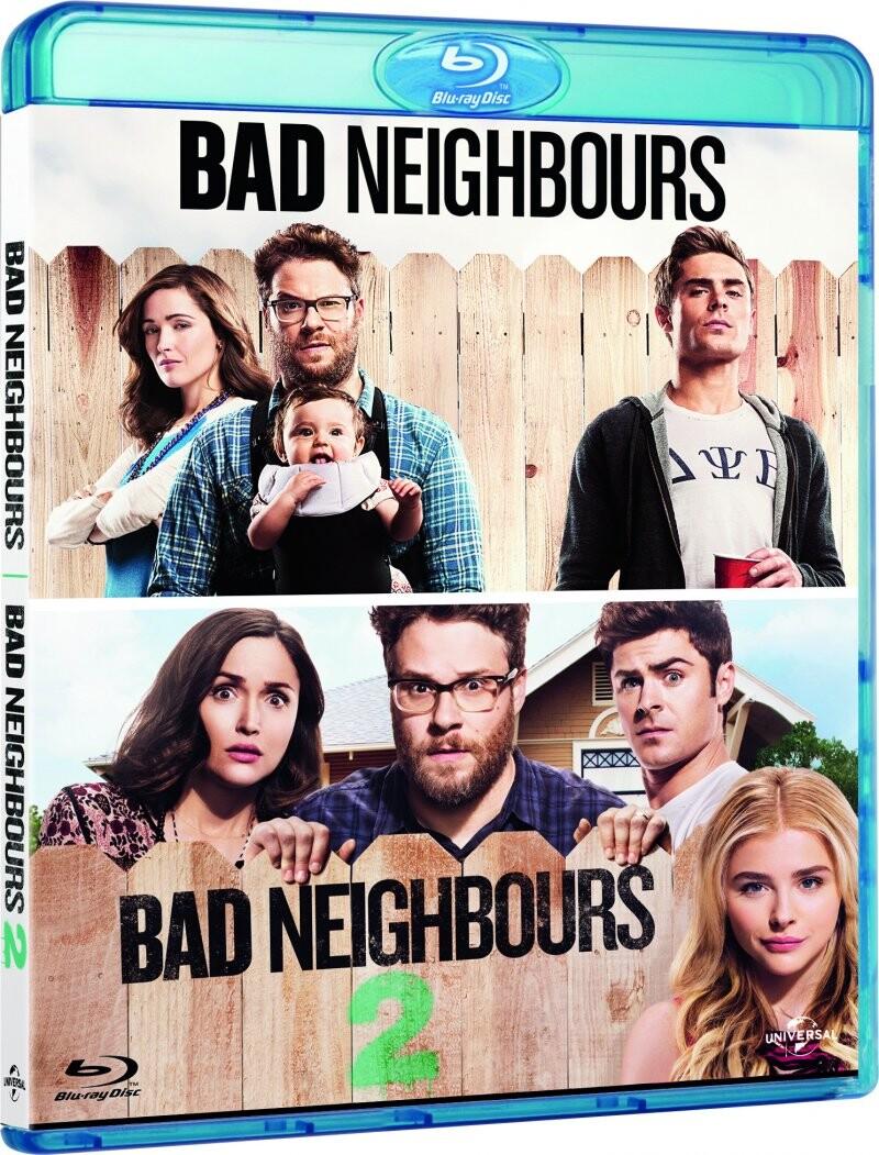 Image of   Bad Neighbours 1 // Bad Neighbours 2 - Blu-Ray
