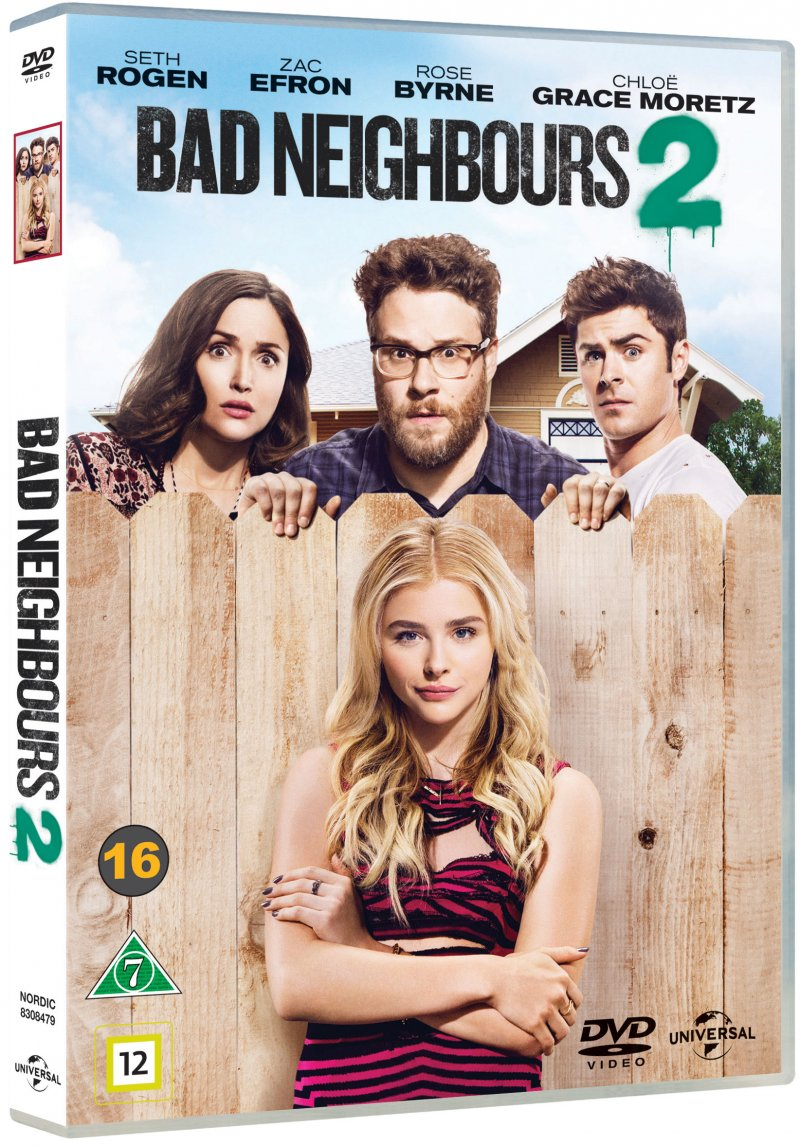 Image of   Bad Neighbours 2 - DVD - Film