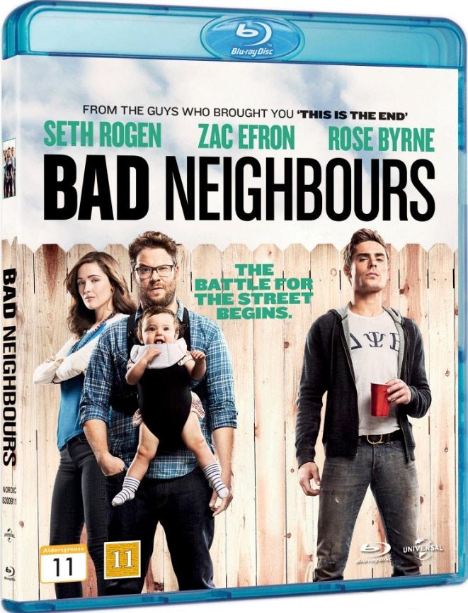 Image of   Bad Neighbours - Blu-Ray