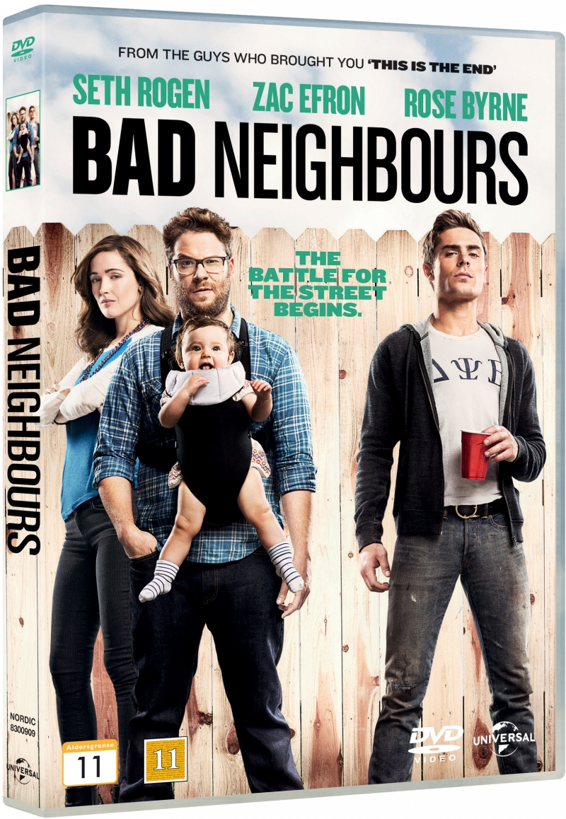 Image of   Bad Neighbours - DVD - Film
