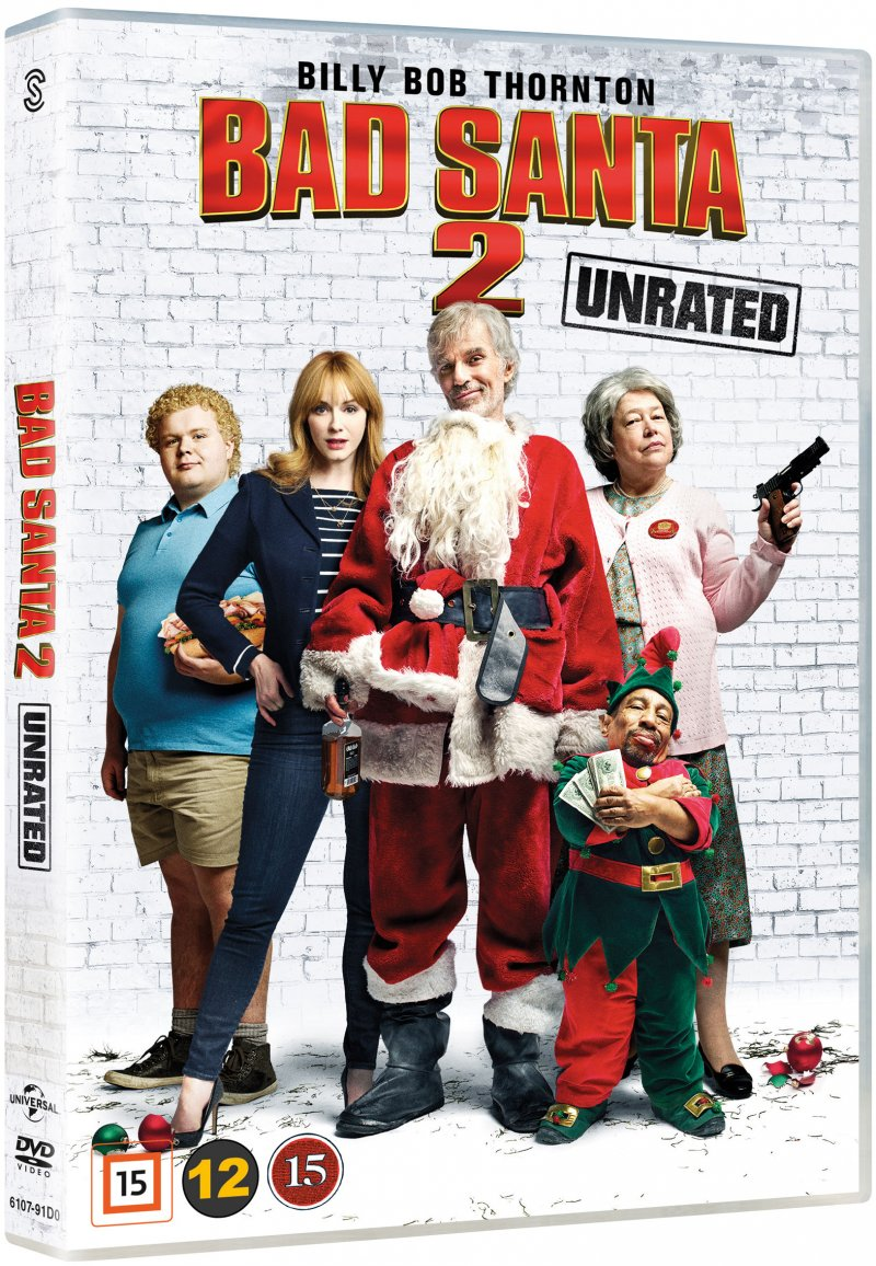 Image of   Bad Santa 2 - Unrated - DVD - Film