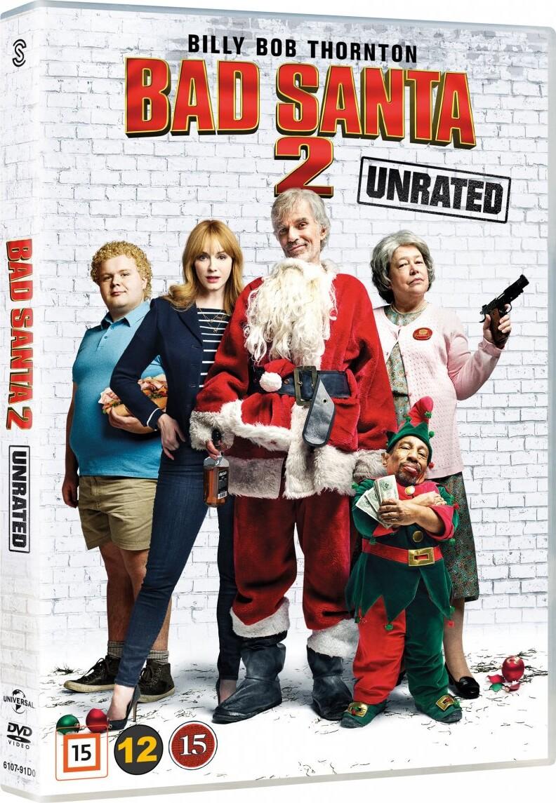 Billede af Bad Santa 2 - Unrated - DVD - Film