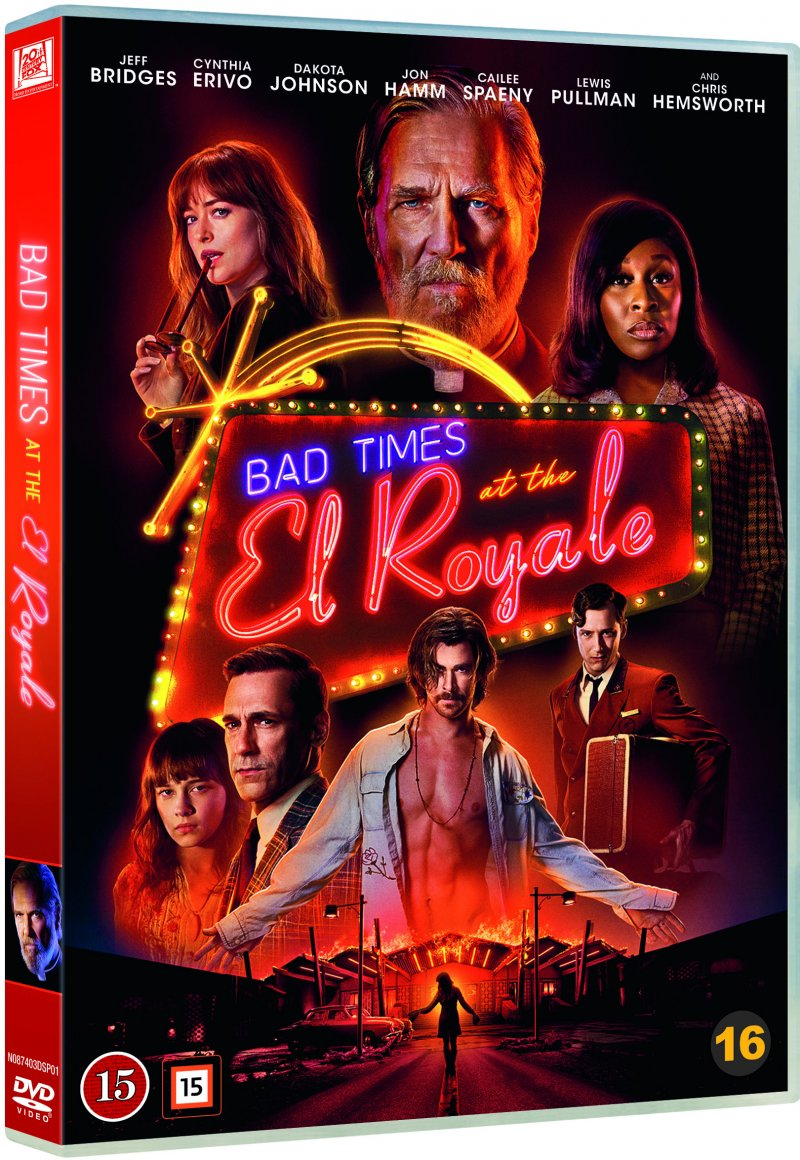 Image of   Bad Times At The El Royale - DVD - Film