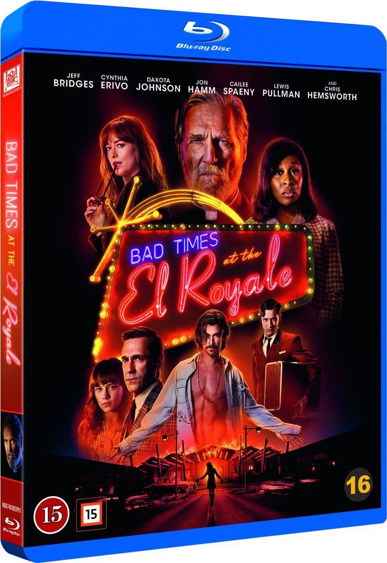 Image of   Bad Times At The El Royale - Blu-Ray