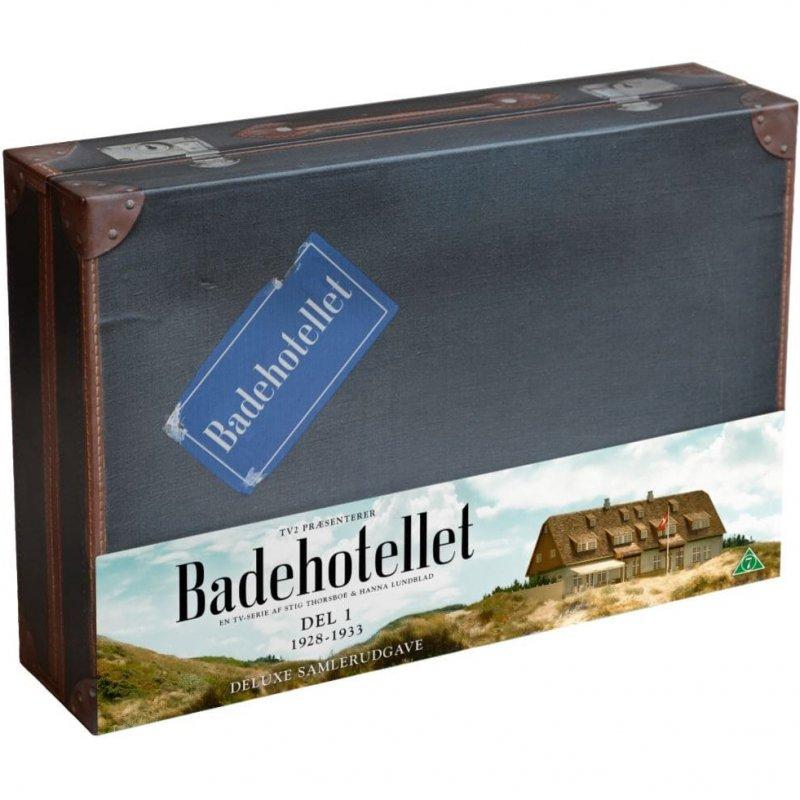 Badehotellet - Sæson 1-5 - Limited Boks - DVD - Tv-serie