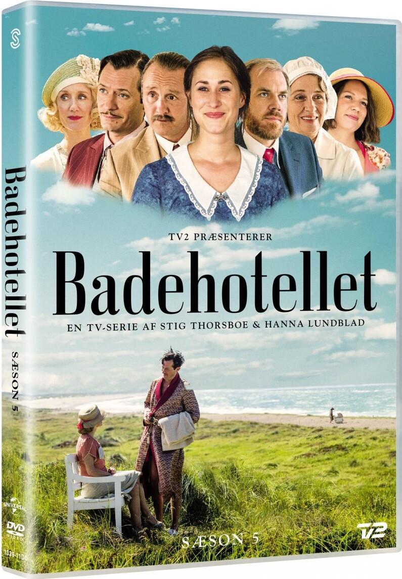 Image of   Badehotellet - Sæson 5 - Tv2 - DVD - Tv-serie