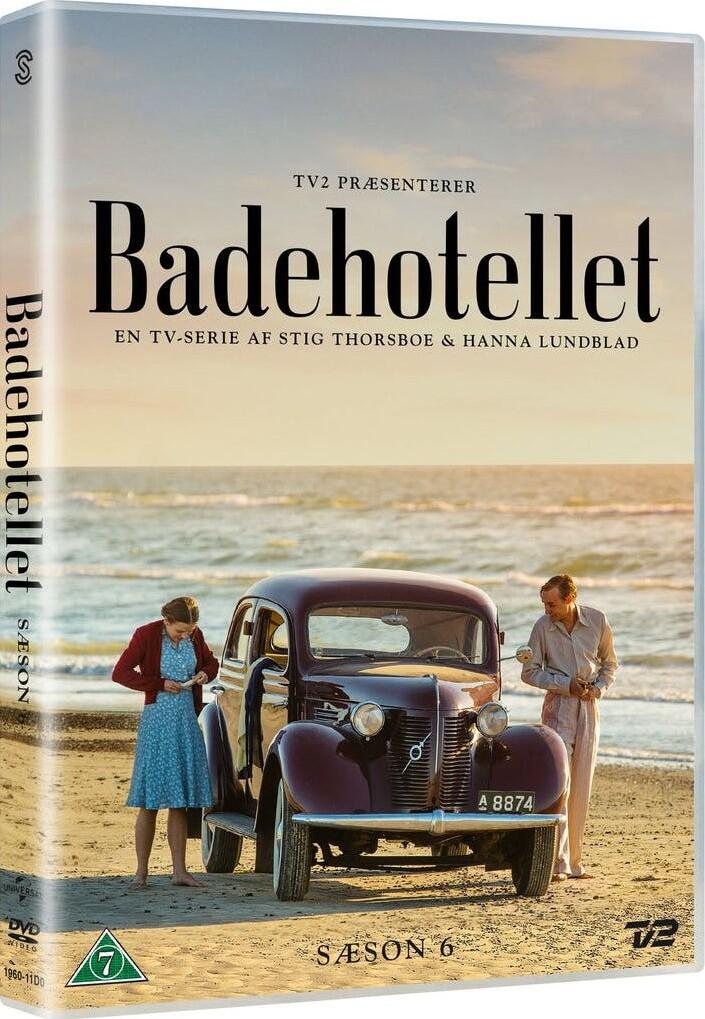 Image of   Badehotellet - Sæson 6 - Tv2 - DVD - Tv-serie