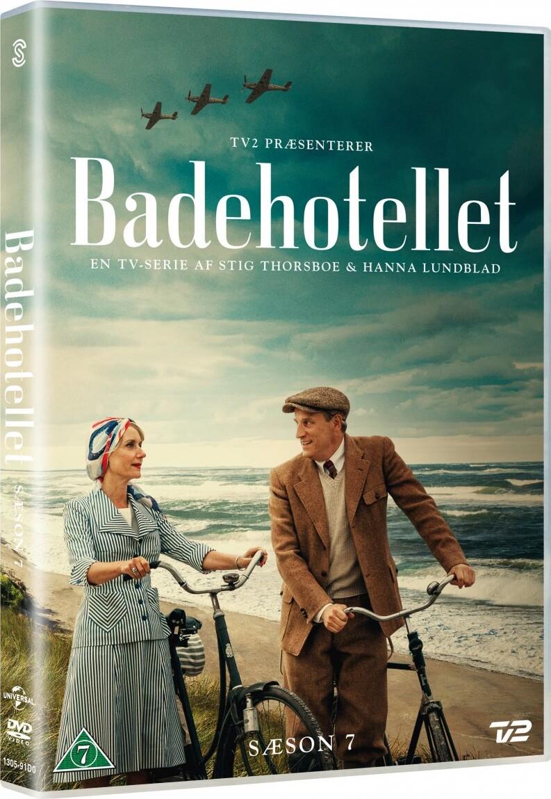 Image of   Badehotellet - Sæson 7 - Tv2 - DVD - Tv-serie