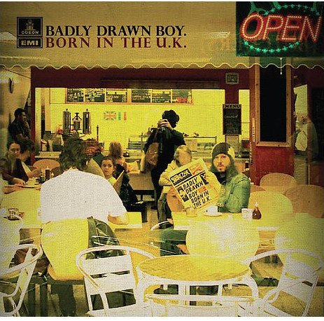 Image of   Badly Drawn Boy - Born In The Uk - CD