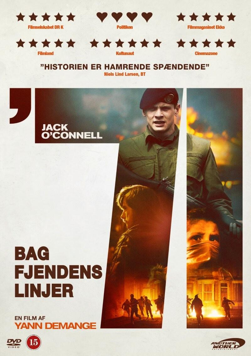 Image of   Bag Fjendens Linjer (1971) - DVD - Film