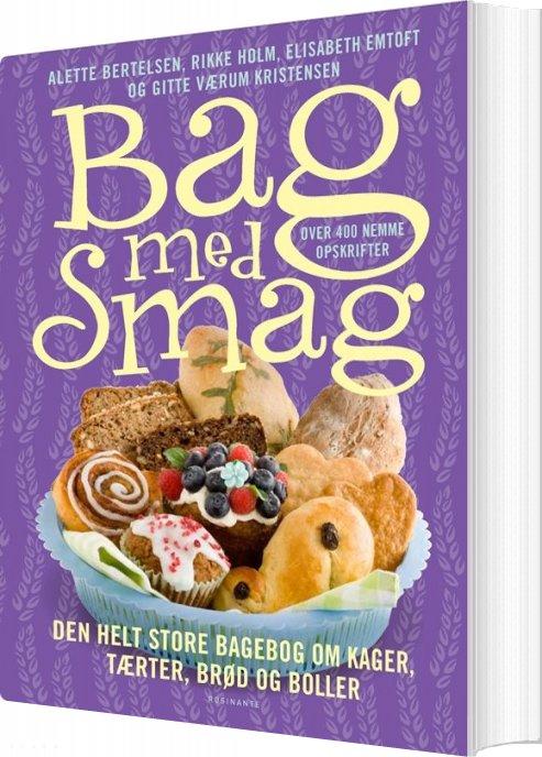 Image of   Bag Med Smag - Rikke Holm - Bog