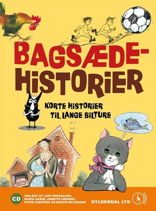 Image of   Bagsædehistorier - Kim Fupz Aakeson - Cd Lydbog