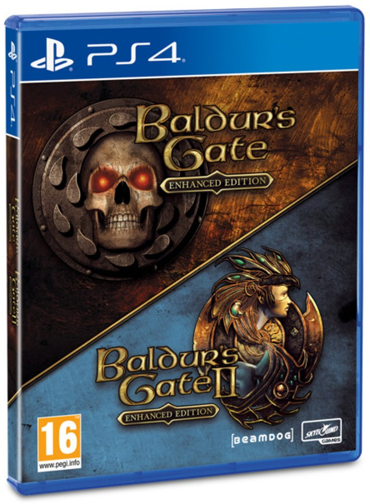 Image of   Baldurs Gate Enhanced & Baldurs Gate 2 - PS4