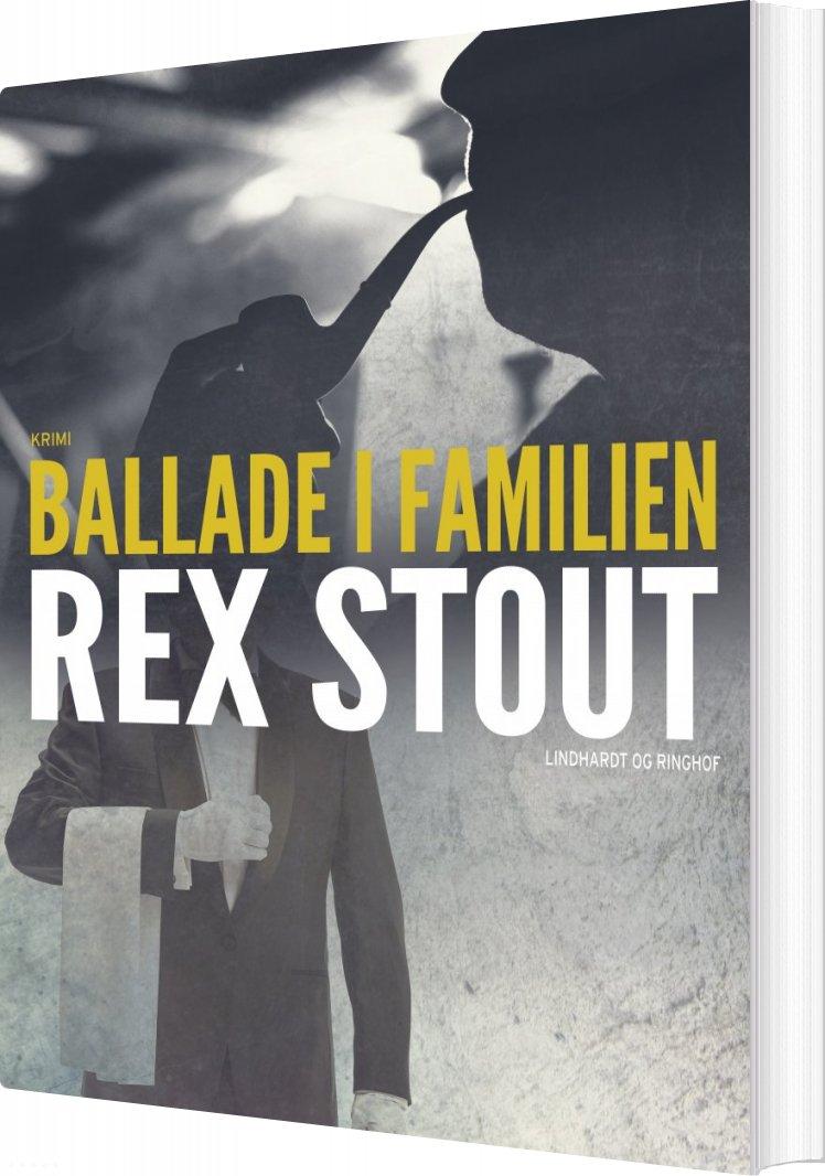 Image of   Ballade I Familien - Rex Stout - Bog