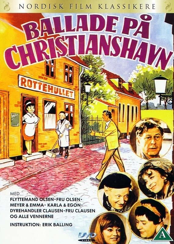 Image of   Ballade På Christianshavn - DVD - Film