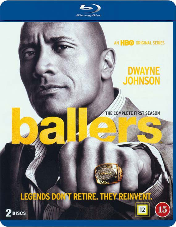 Image of   Ballers - Sæson 1 - Hbo - Blu-Ray - Tv-serie