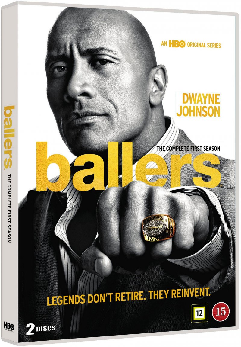 Image of   Ballers - Sæson 1 - Hbo - DVD - Tv-serie