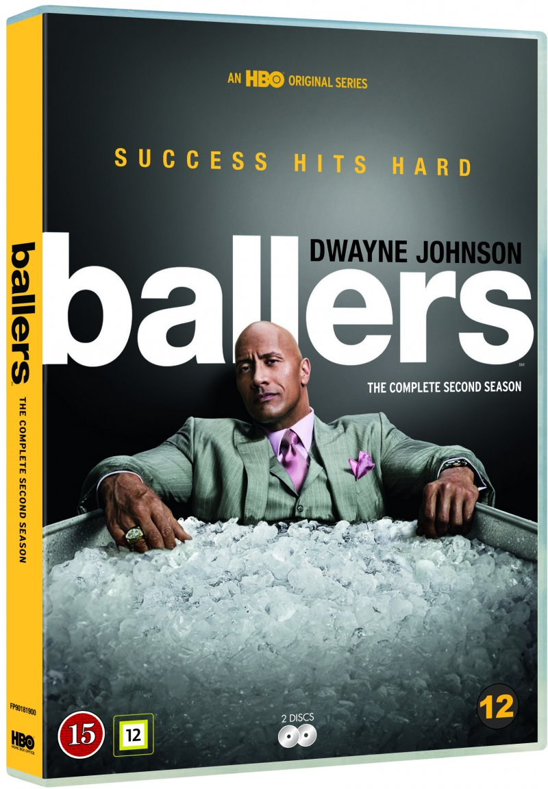 Image of   Ballers - Sæson 2 - Hbo - DVD - Tv-serie