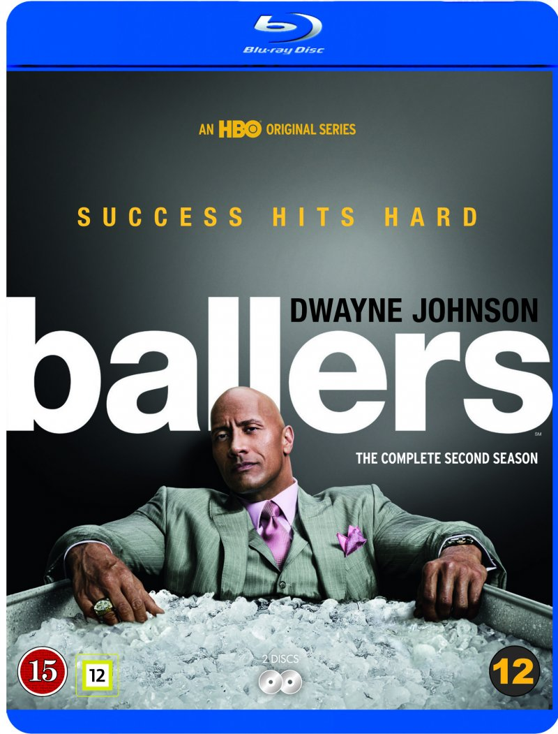 Image of   Ballers - Sæson 2 - Hbo - Blu-Ray - Tv-serie