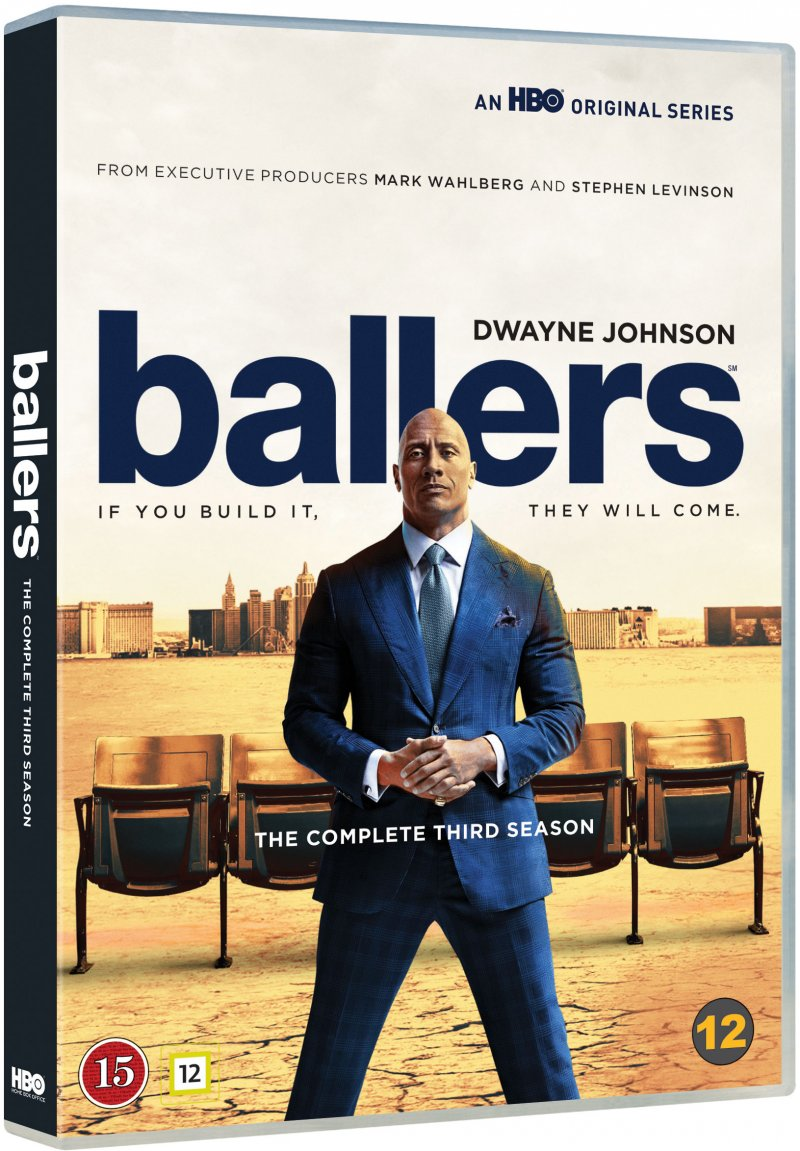 Image of   Ballers - Sæson 3 - Hbo - DVD - Tv-serie