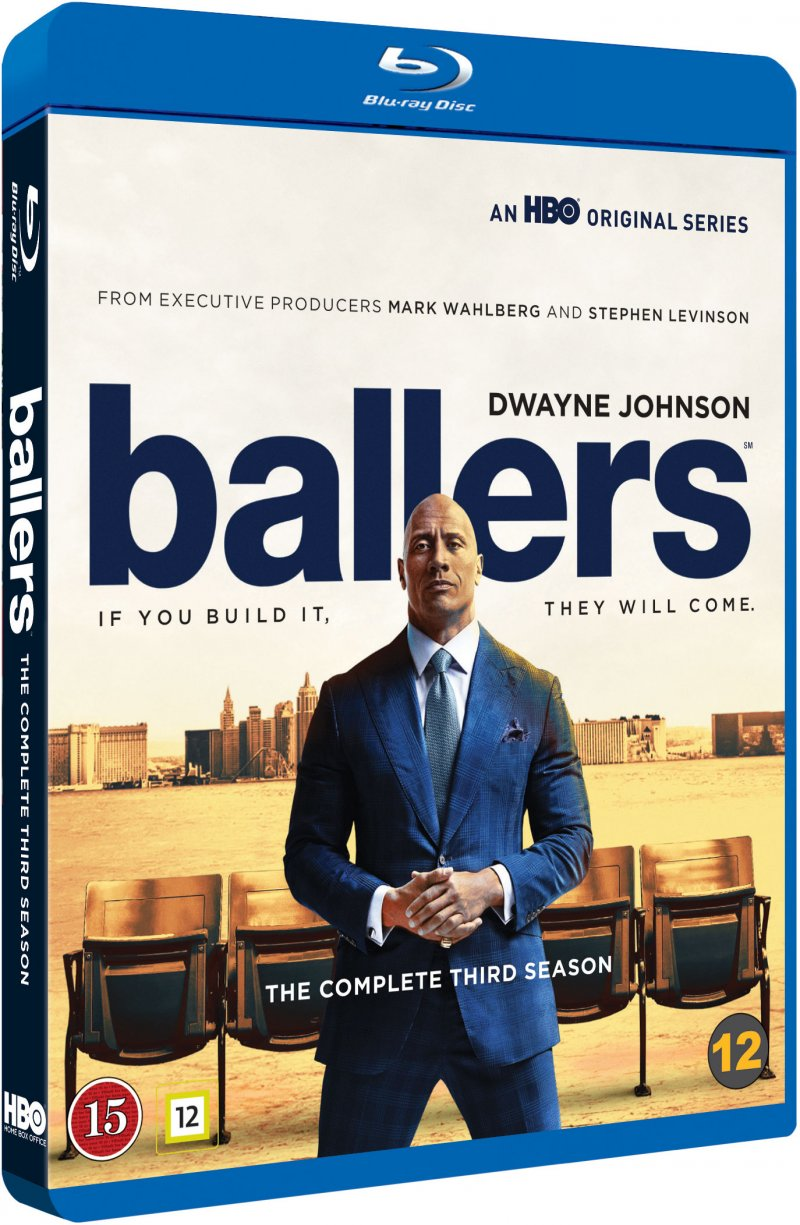 Image of   Ballers - Sæson 3 - Hbo - Blu-Ray - Tv-serie