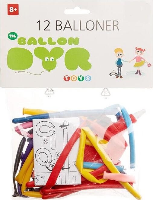 Image of   Balloner Til Ballondyr - 12 Stk.
