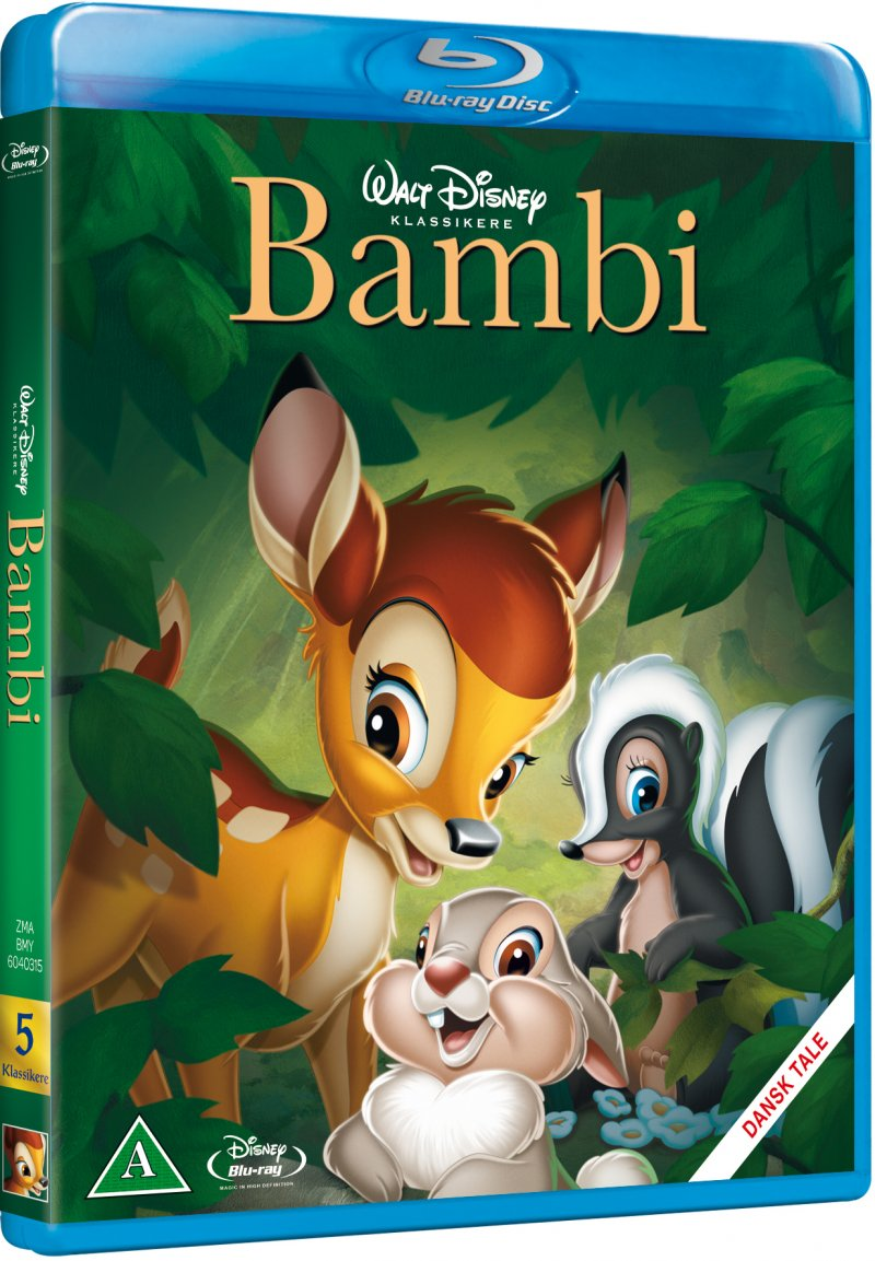 Image of   Bambi - Disney - Blu-Ray