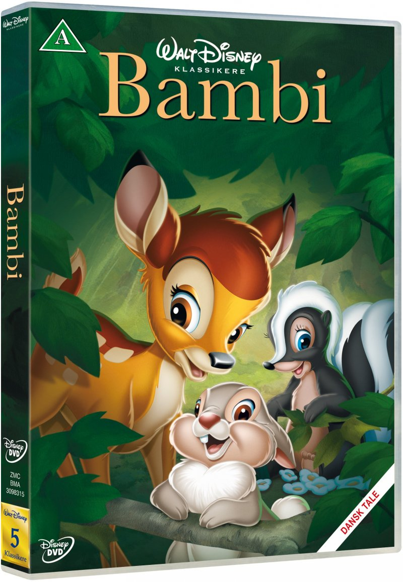 Image of   Bambi - Disney - DVD - Film