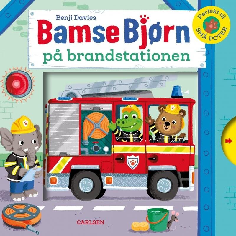 Bamse Bjørn På Brandstationen - Benji Davies - Bog
