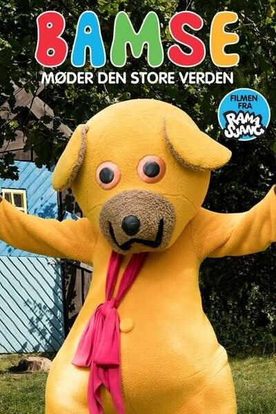 Image of   Bamse Møder Den Store Verden - DVD - Film