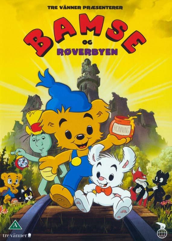 Image of   Bamse Og Røverbyen - DVD - Film