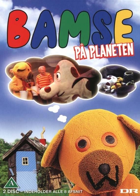 Image of   Bamse På Planeten - DVD - Film