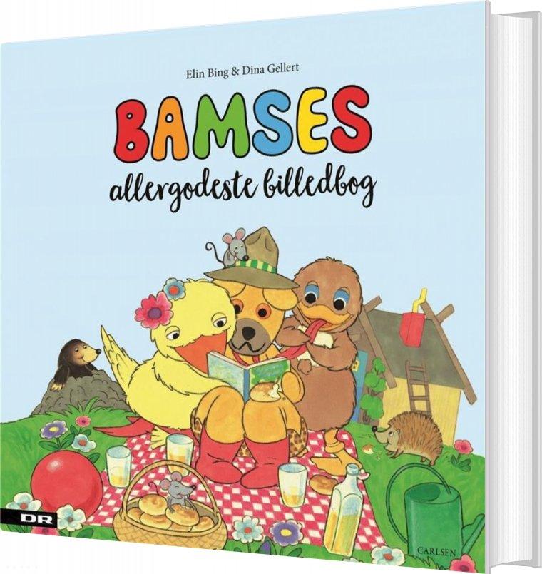 Image of   Bamses Allergodeste Billedbog - Elin Bing - Bog