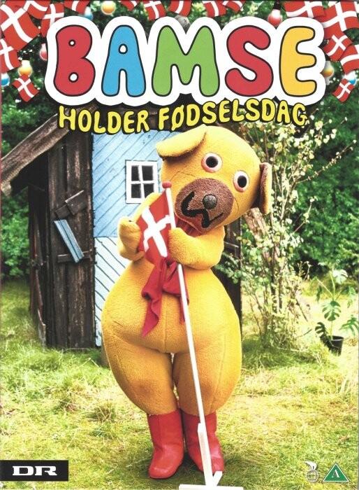 Image of   Bamses Billedbog - Bamse Holder Fødselsdag - DVD - Film