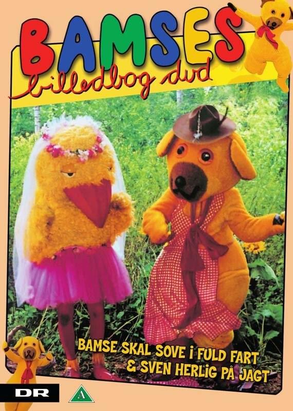 Image of   Bamses Billedbog - Bamse Skal Sove I Fuld Fart & Sven Herlig På Jagt - DVD - Film