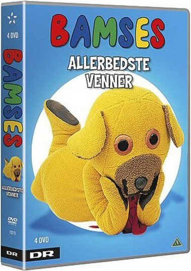 Bamses Billedbog Bamses Allerbedste Venner Boks - Dr - DVD - Film