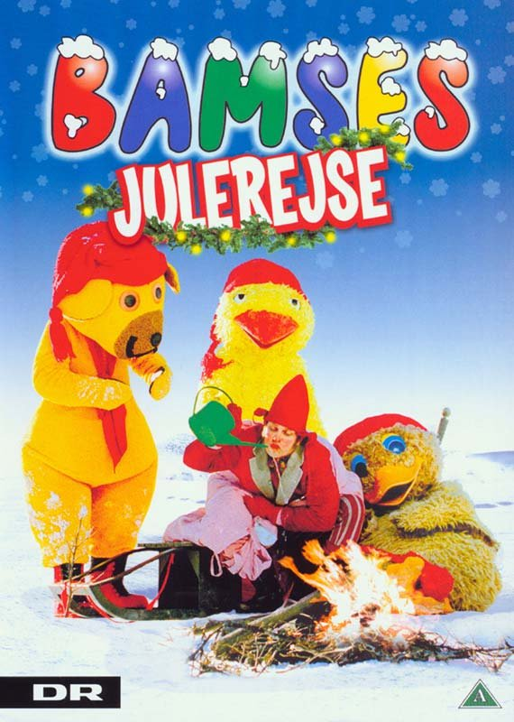 Bamses Julerejse - Bamse Og Kylling - DVD - Tv-serie